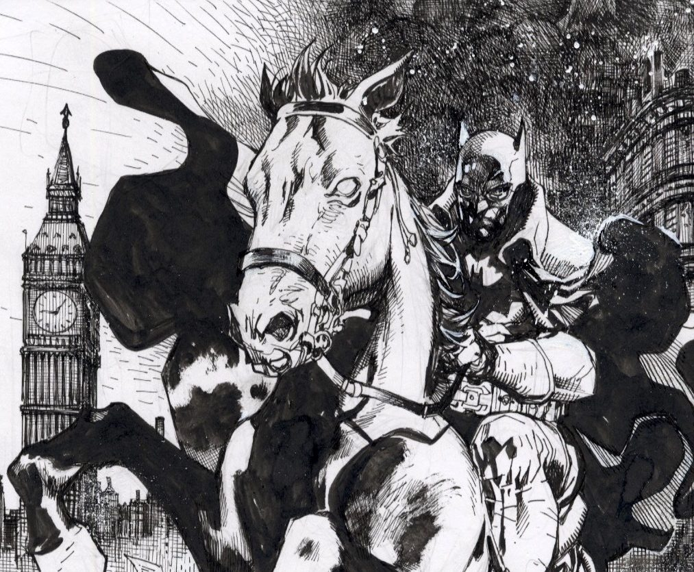 EXCLUSIVE First Look: Jim Lee's latest 60 sketches in 60 days - Batman: Gotham by Gaslight