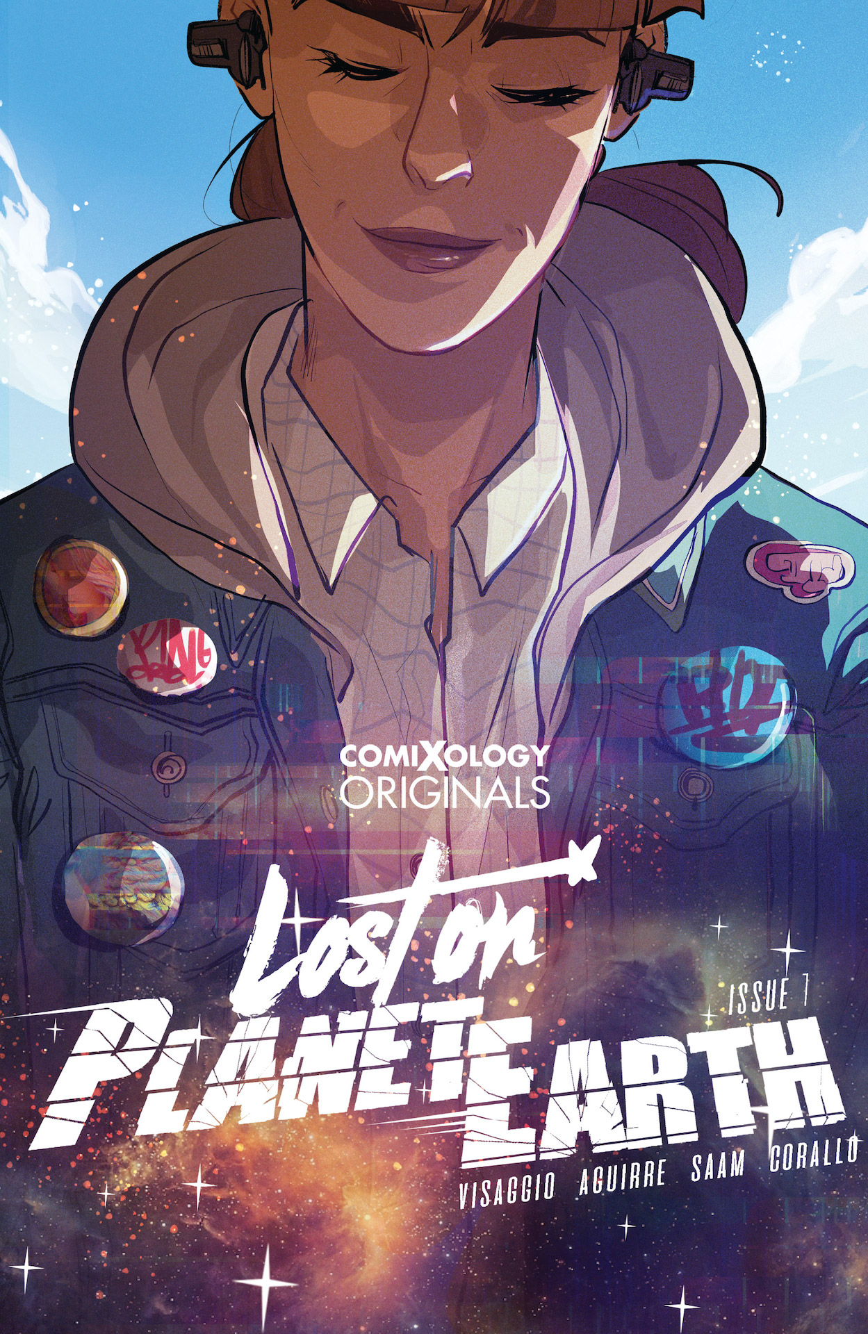 The new comic will be available April 15, 2020 on comiXology.