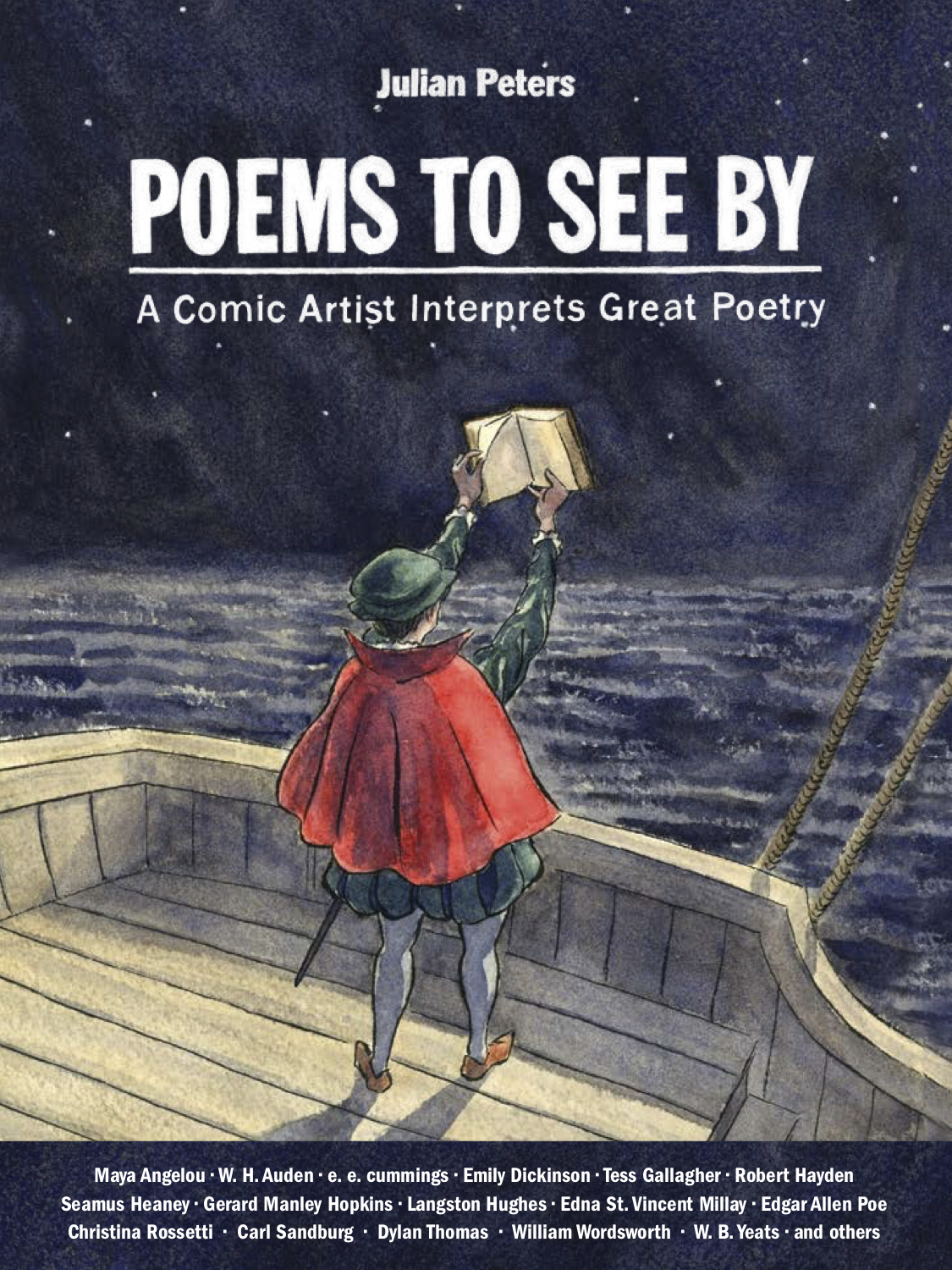 Julian Peters' newest book 'Poems to See By' breathes life into classic poetry