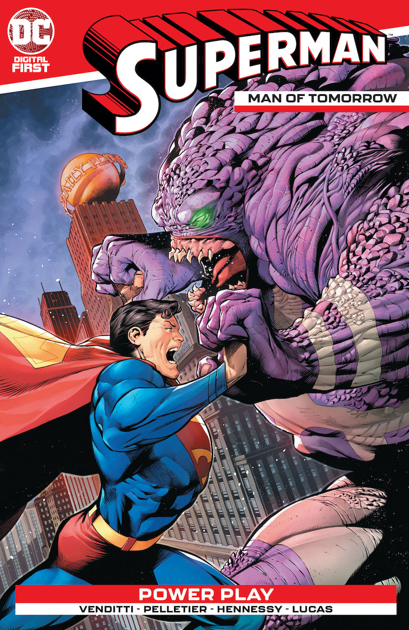 DC Preview: Superman: The Man of Tomorrow#1