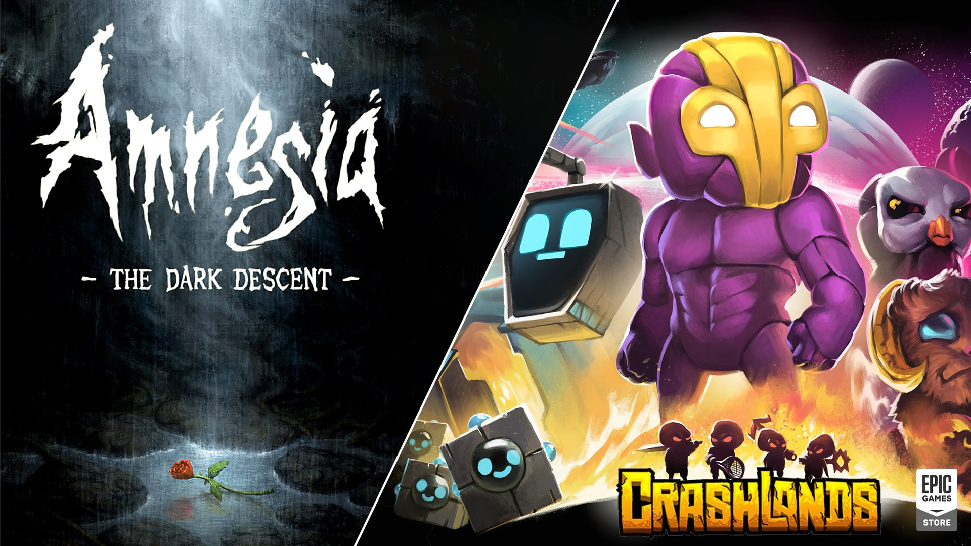 Amnesia: The Dark Descent and Crashlands are free on the Epic Games Store