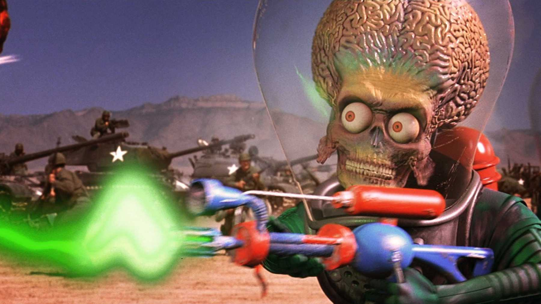 'Mars Attacks!' is one of the biggest wastes of talent I've ever seen.