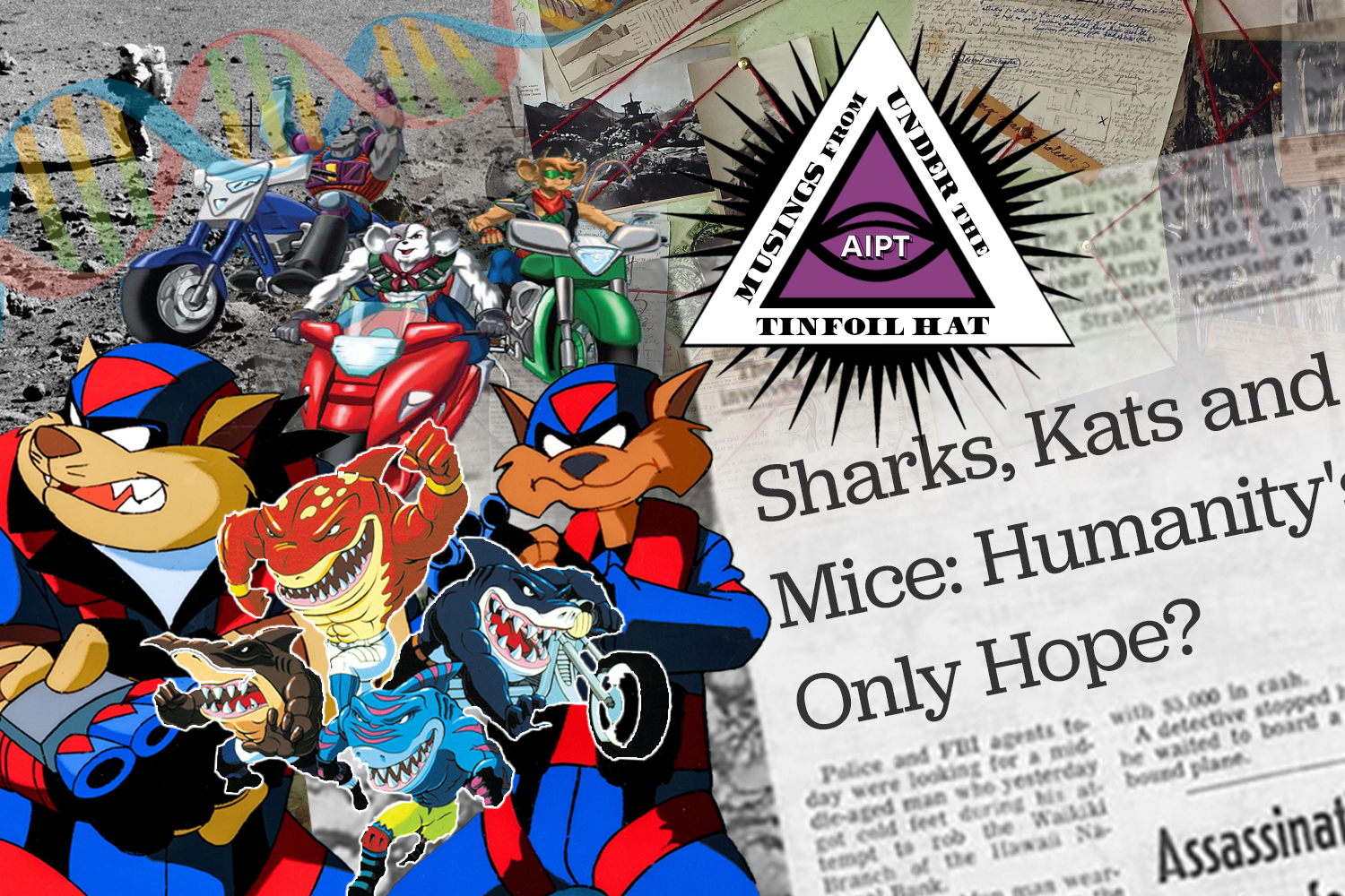 Sharks, kats, and mice, oh my! How a trio of '90s cartoons will help Millennials save the world