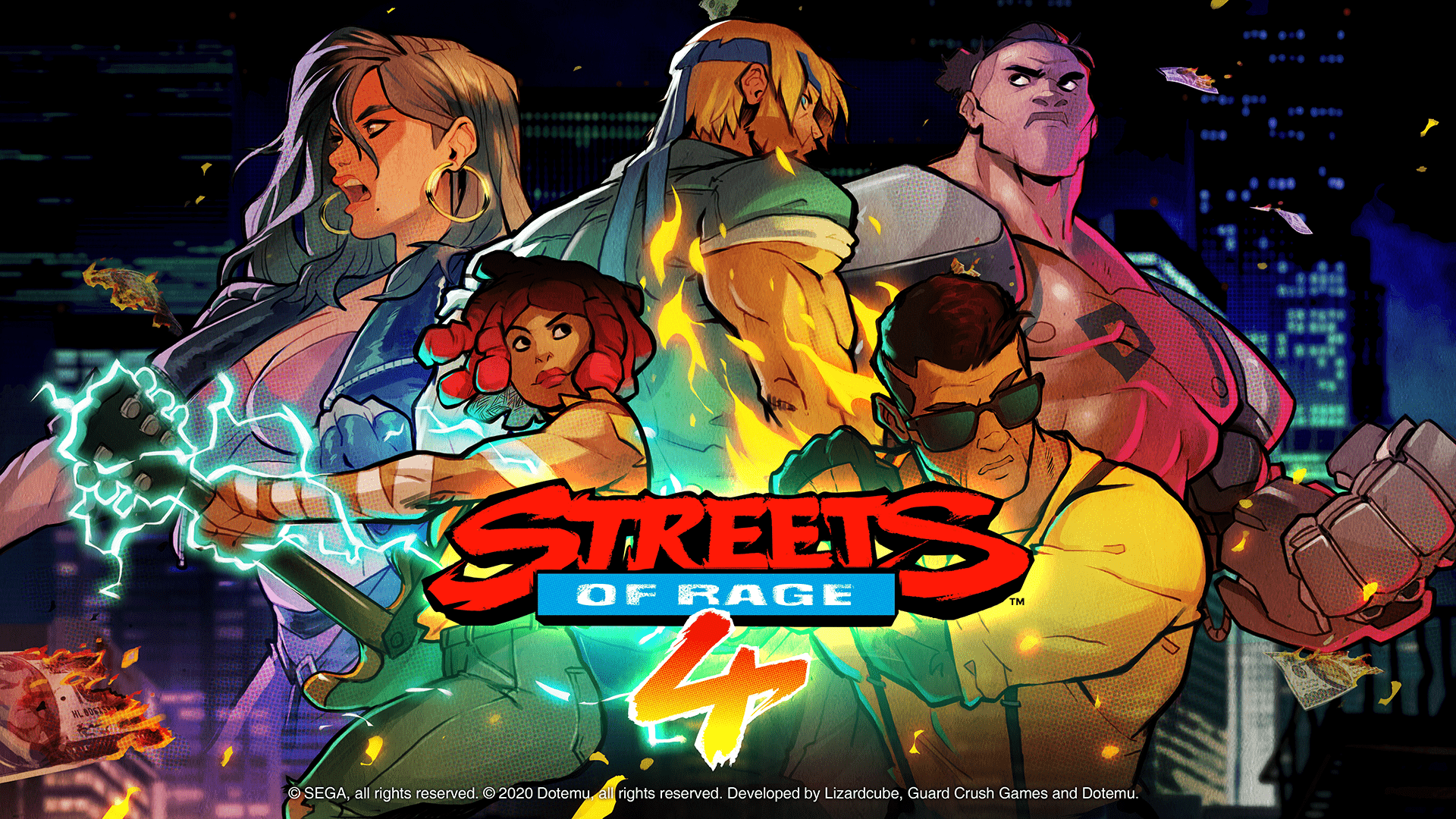 Streets of Rage 4 launches April 30