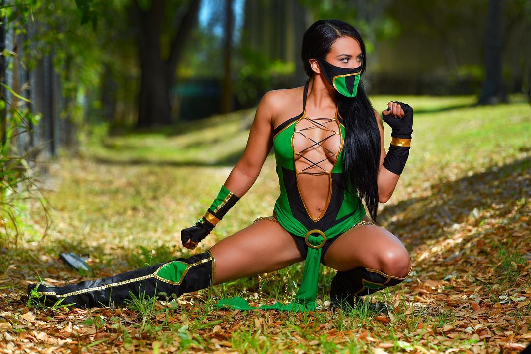 The WWE Superstar is also a talented cosplayer.