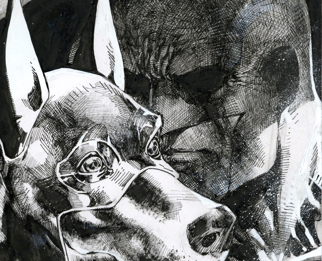 First Look: Jim Lee's latest 60 sketches in 60 days – Ace the Bat-Hound