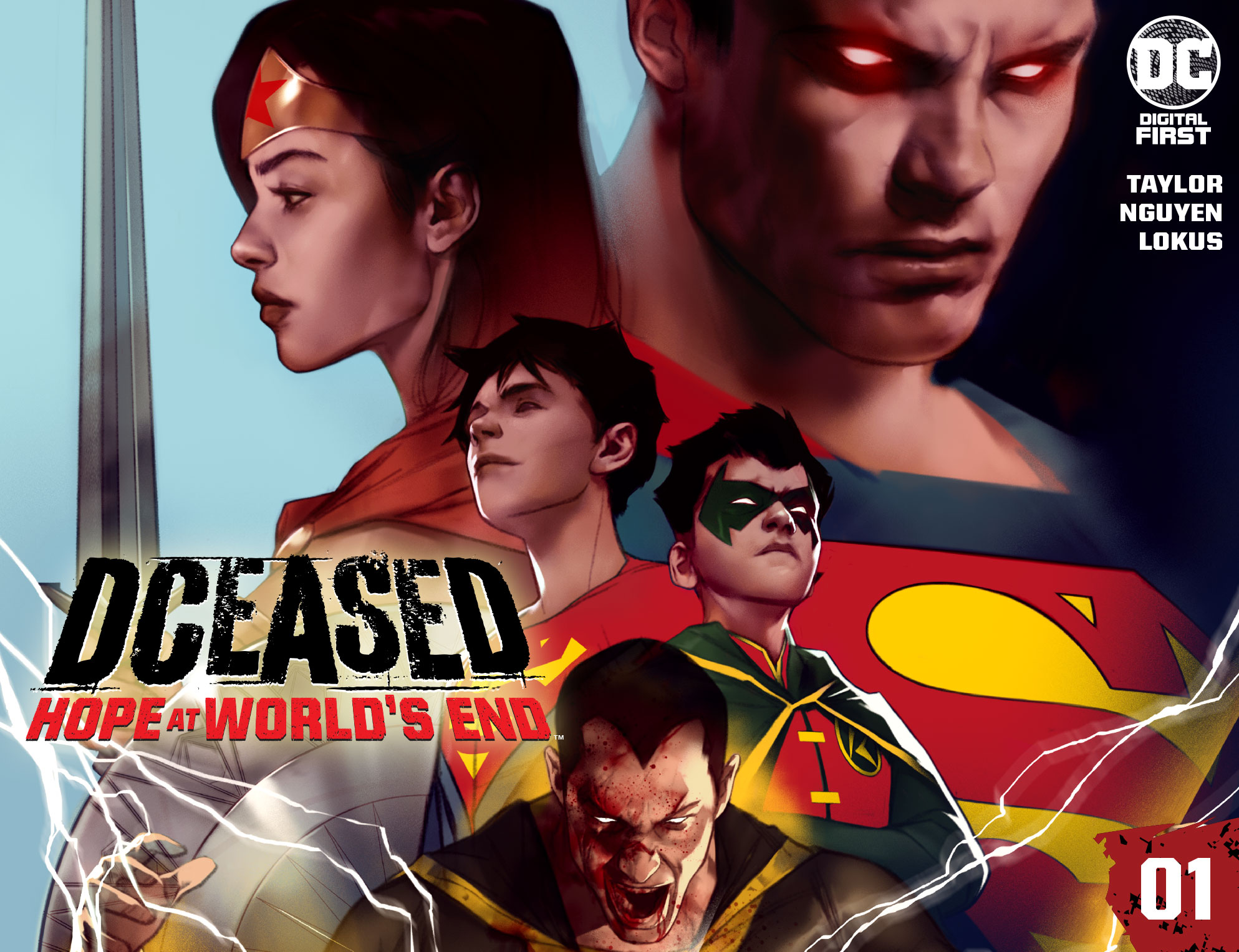 DCeased: Hope at World's End starts today and runs bi-monthly for 14 chapters.