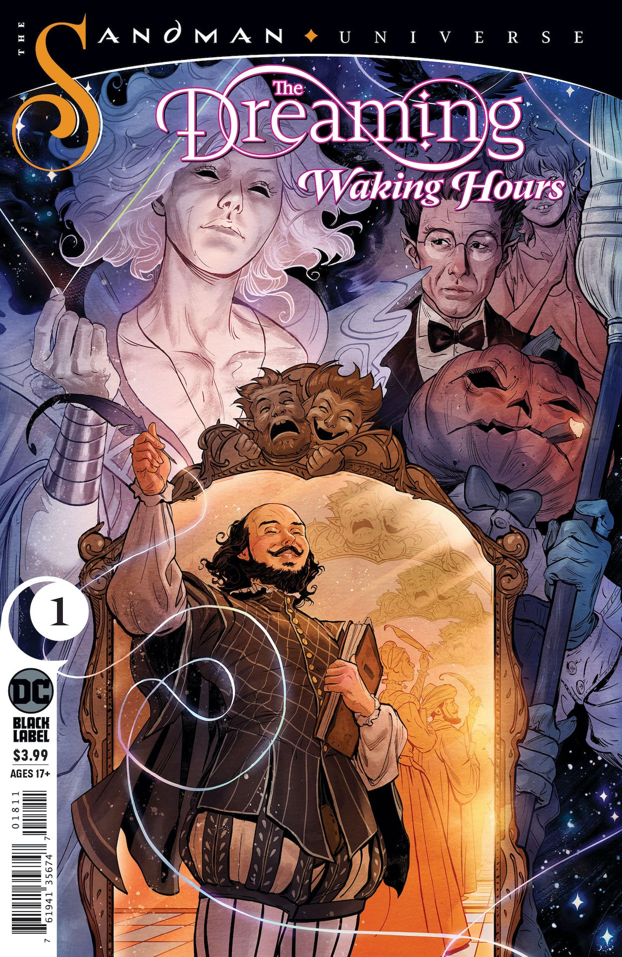 A new chapter in the Sandman saga begins with an all-new The Dreaming series populated by faces both familiar and new!