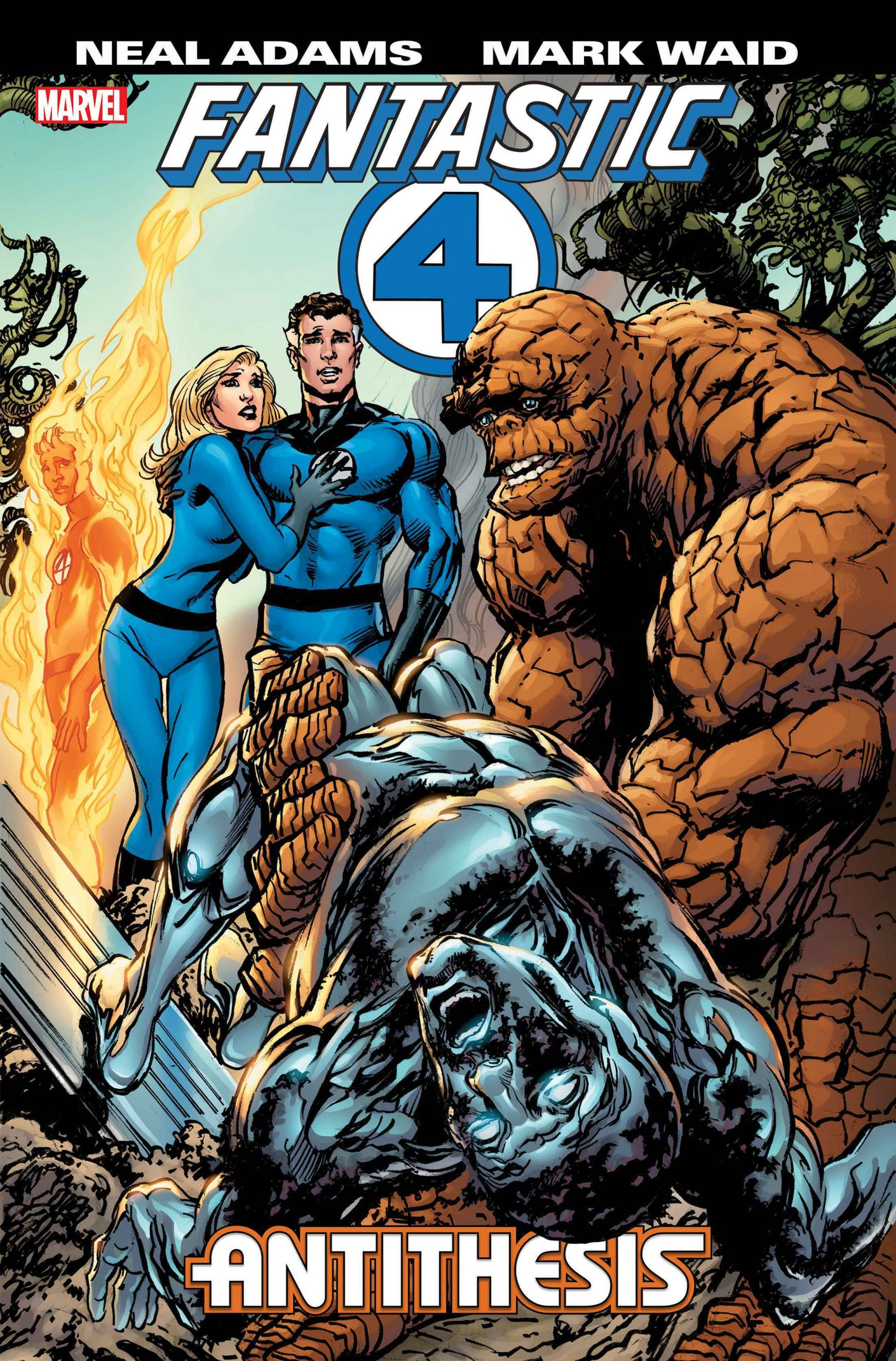 Marvel Comics announces Neal Adams and Mark Waid collab on 'Fantastic Four: Antithesis'