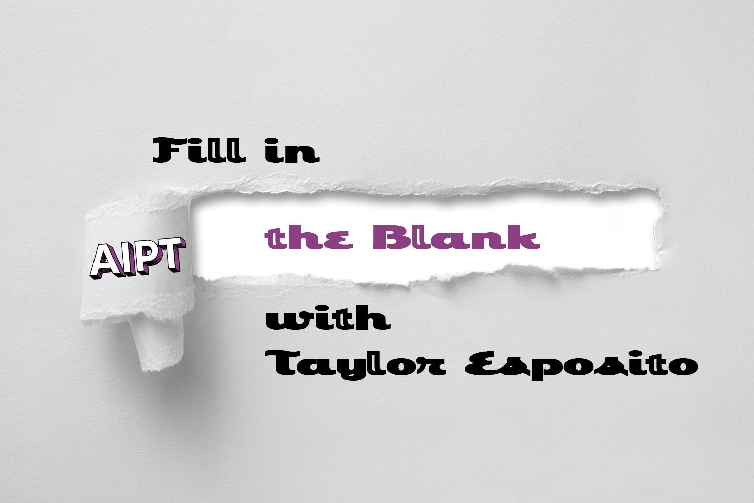 Fill in the Blank: Taylor Esposito