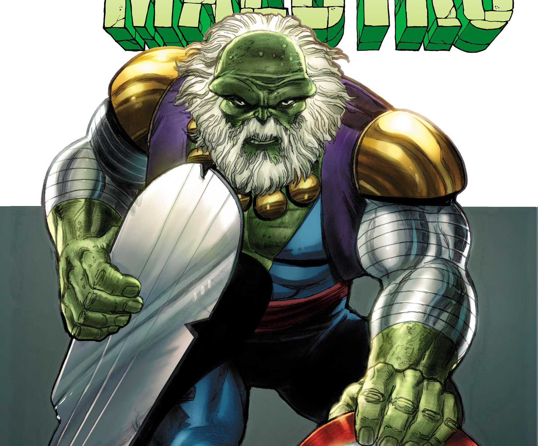 Marvel Comics has announced Incredible Hulk writer Peter David is taking on Maestro with a new origin story series this August. Titled Maestro, the series will be drawn by Dale Keown and Germán Peralta on focuses on fleshing out the villain's origin.