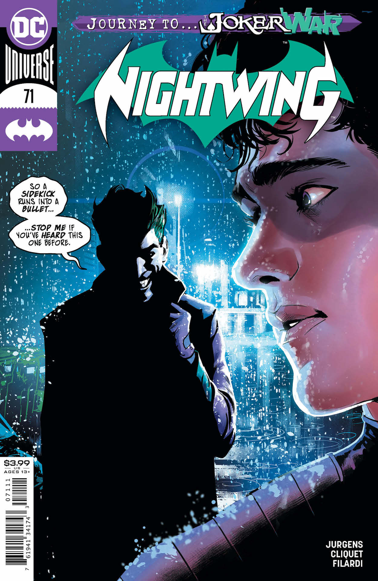 DC Preview: Nightwing #71 - Countdown to 'The Joker War'