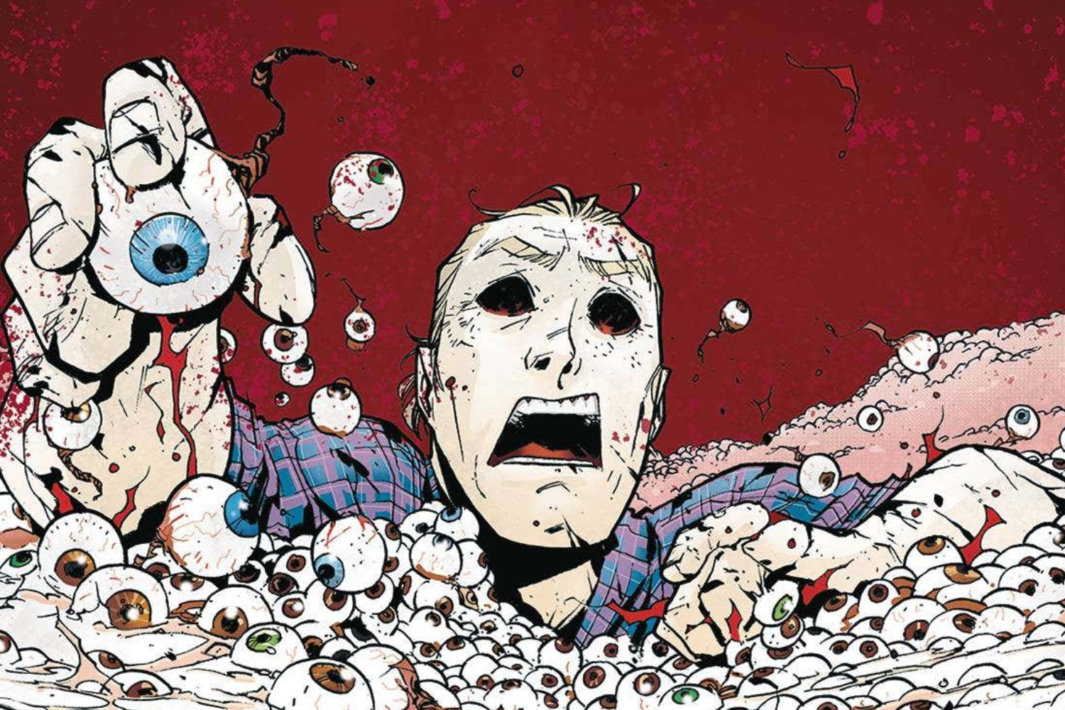 Joshua Williamson and Mike Henderson talk comics and killers with 'Nailbiter Returns'