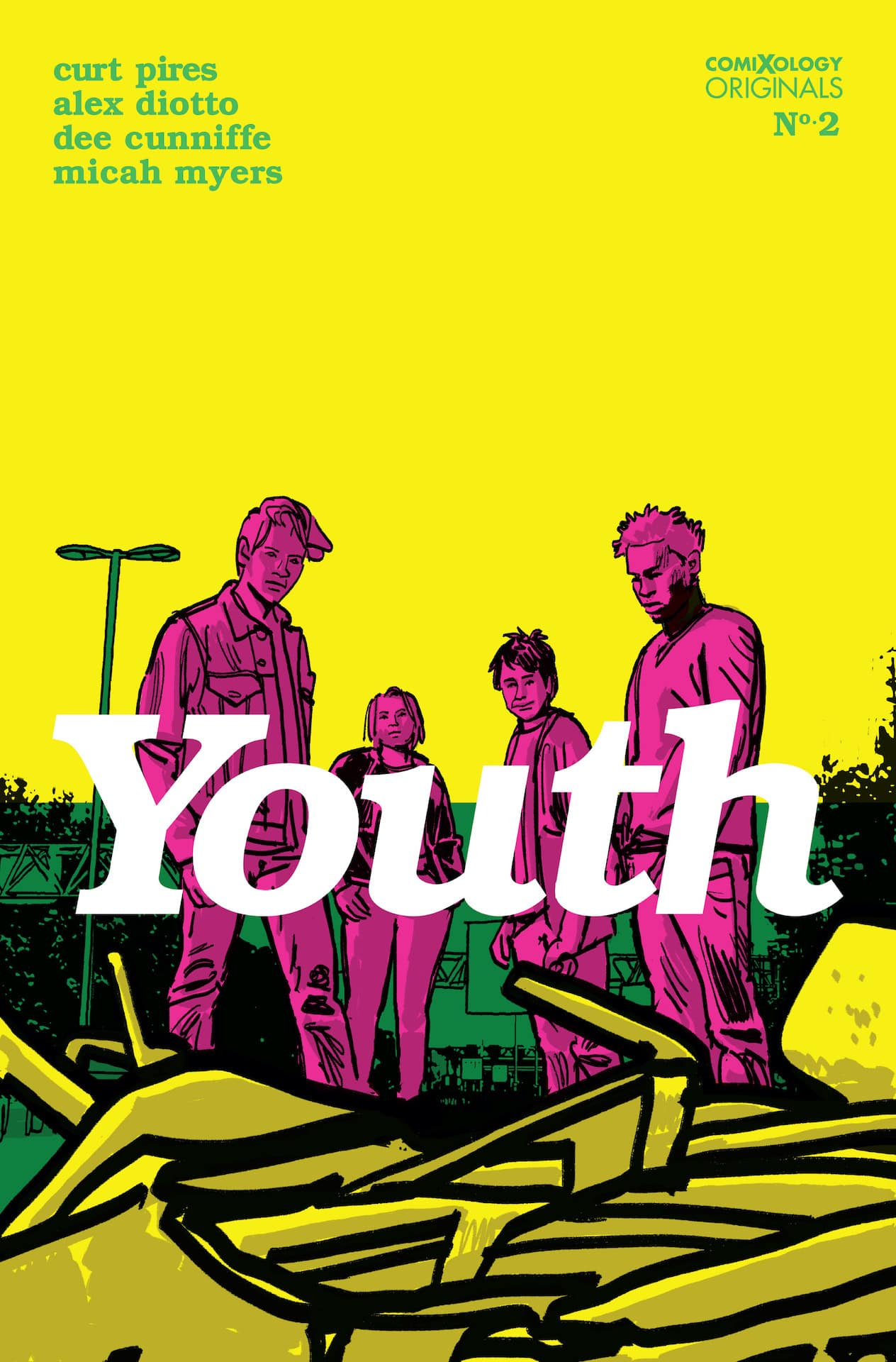 comiXology Preview: Youth #2