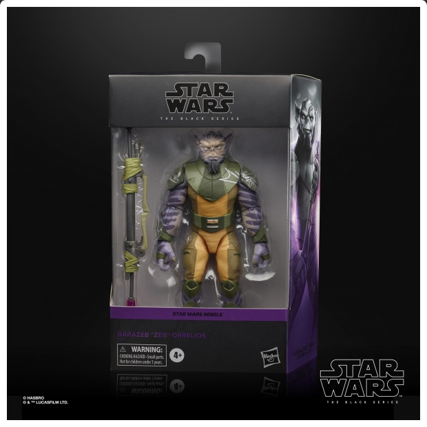 Zeb Star Wars: Black Series