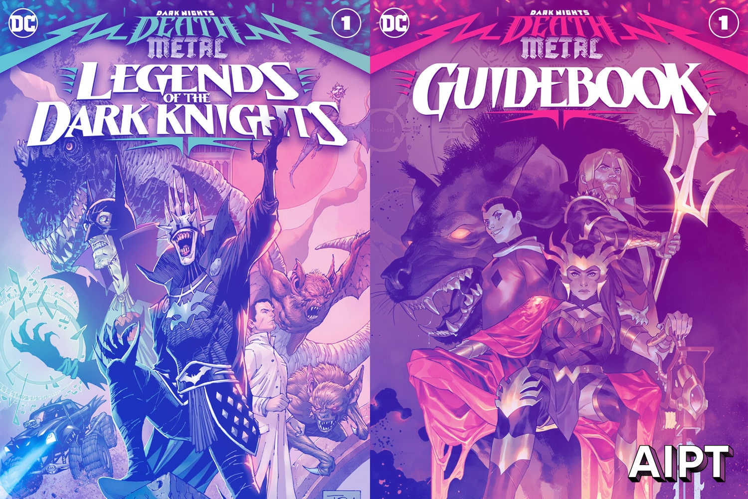 Death Metal is heating up in August with two newly added one-shot titles, issue #3, and today a seventh issue announced.