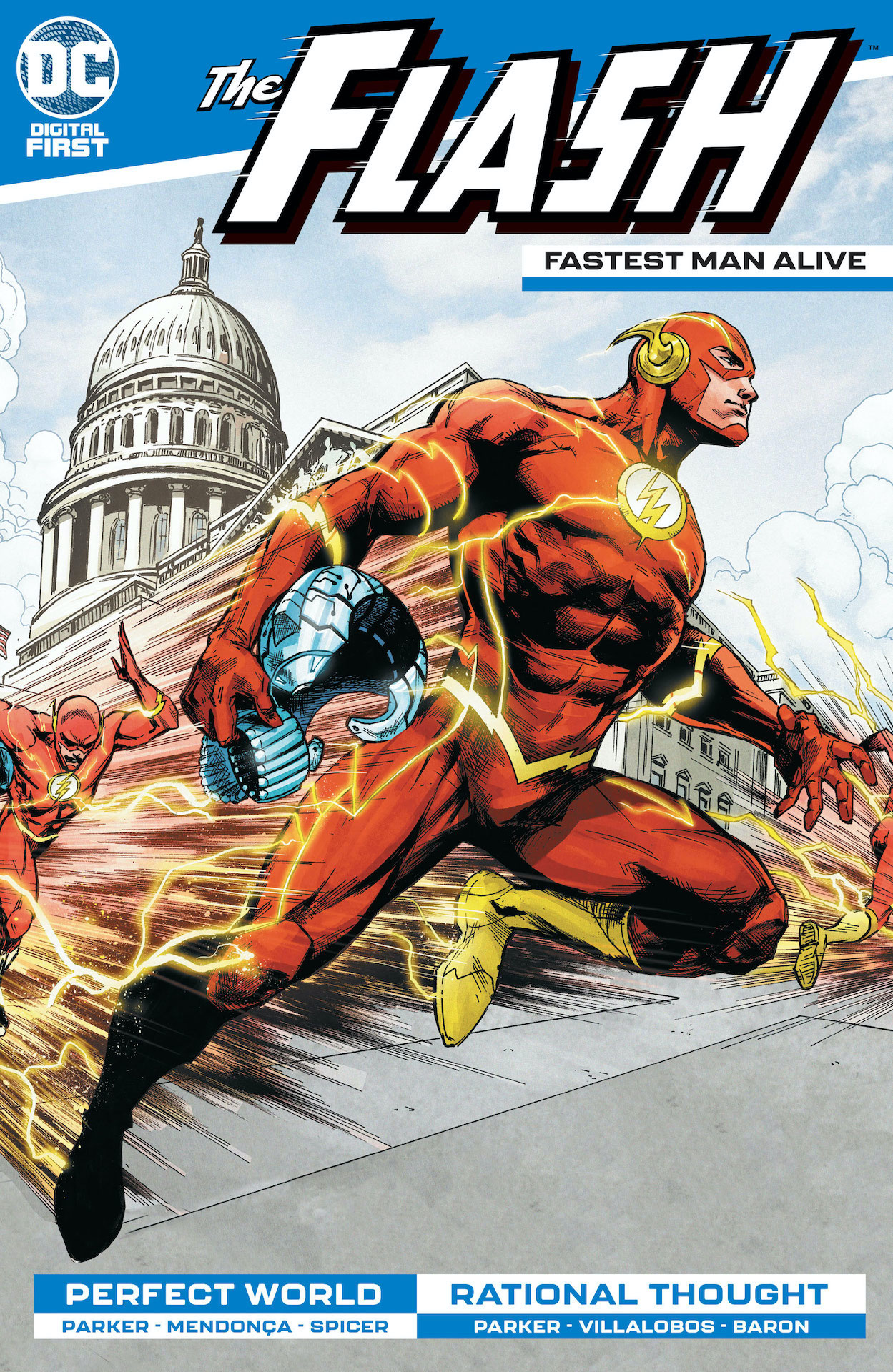 DC Preview: The Flash: Fastest Man Alive #6