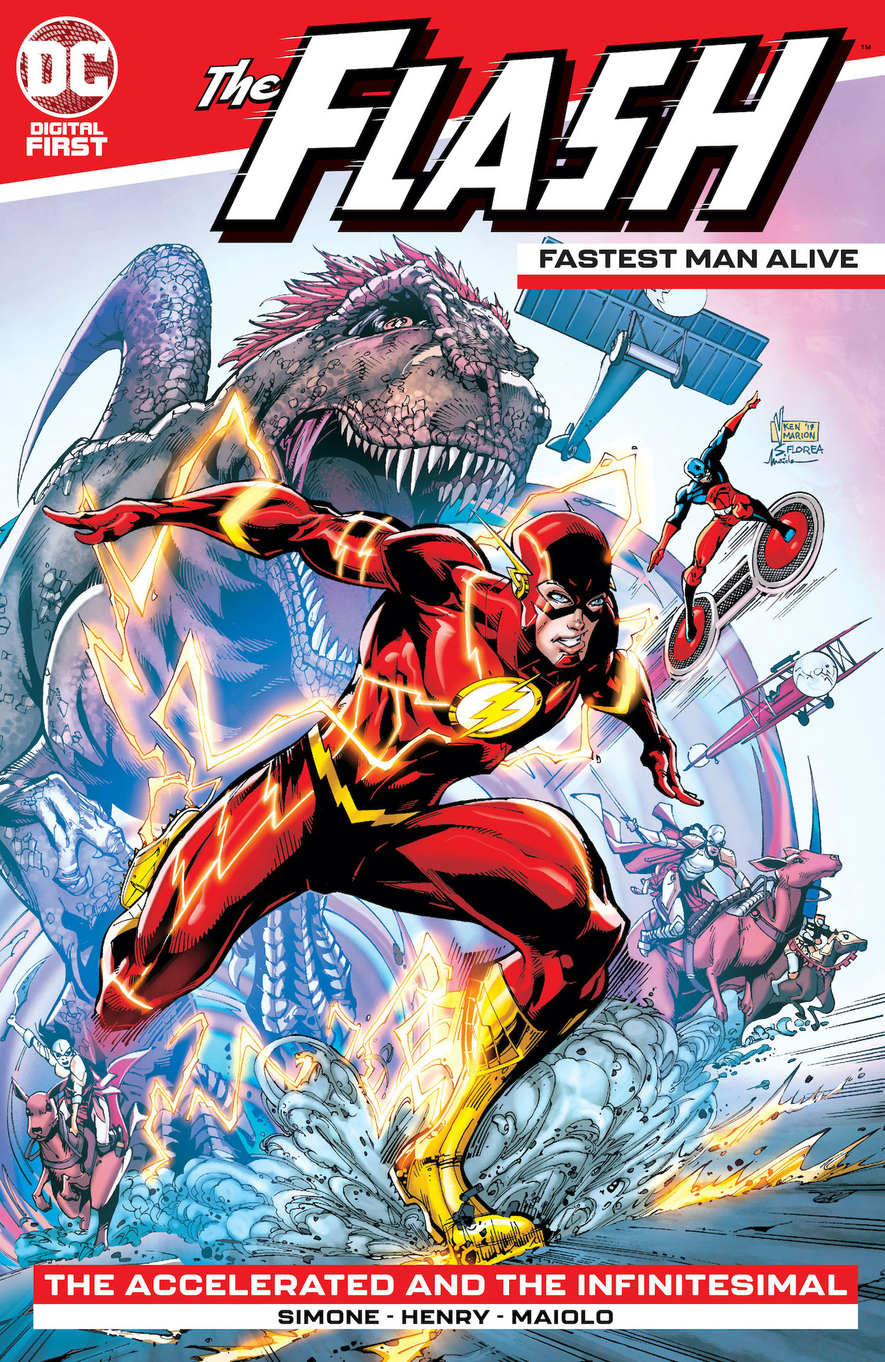 DC Preview: The Flash: Fastest Man Alive #3