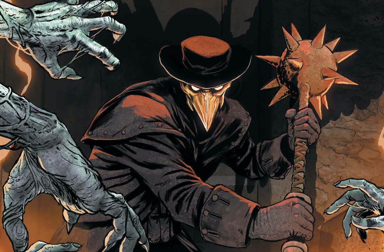 'Hawkman' #23 review: Gripping historical drama during the Black Death