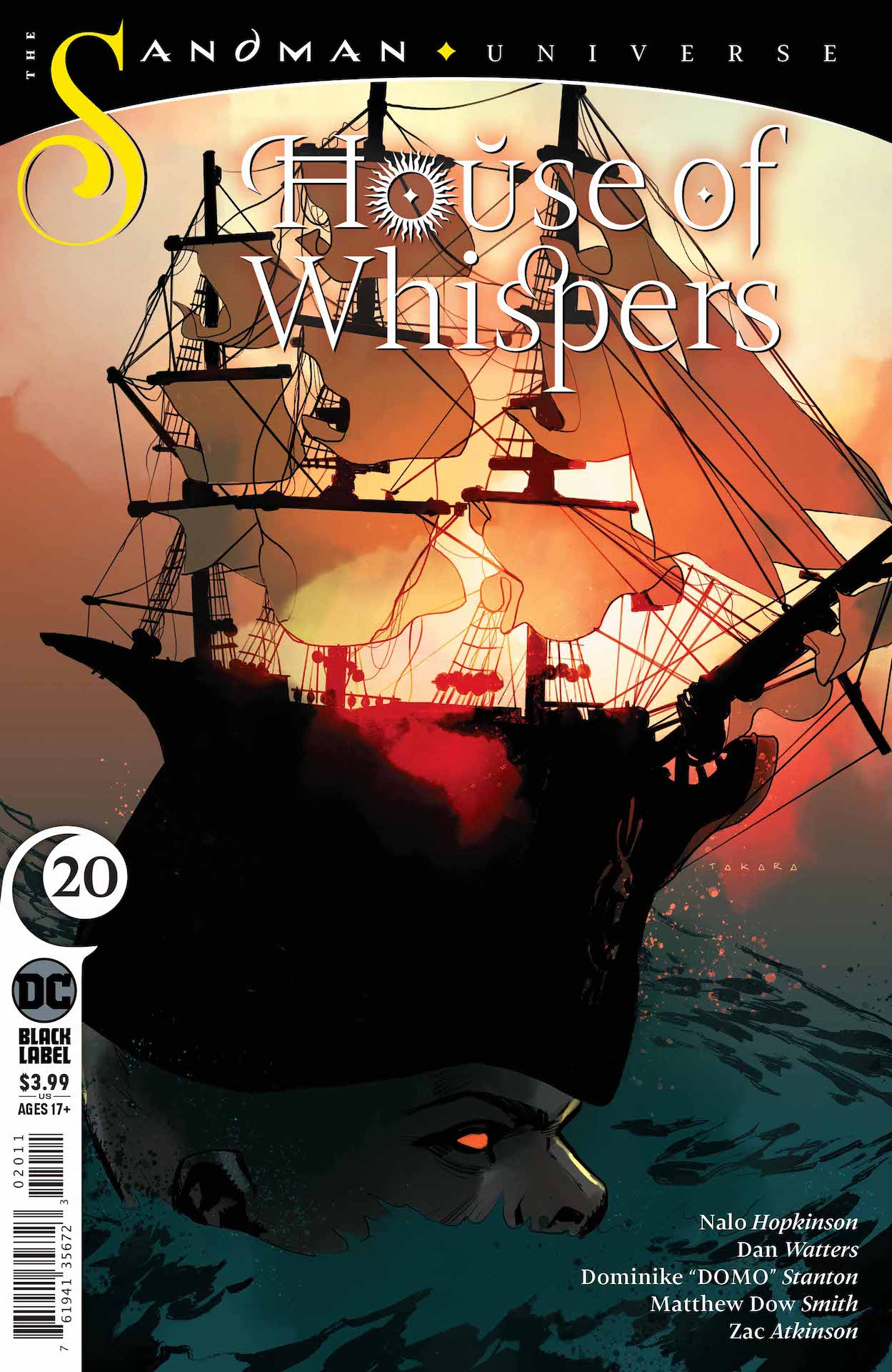 DC Preview: House of Whispers #20