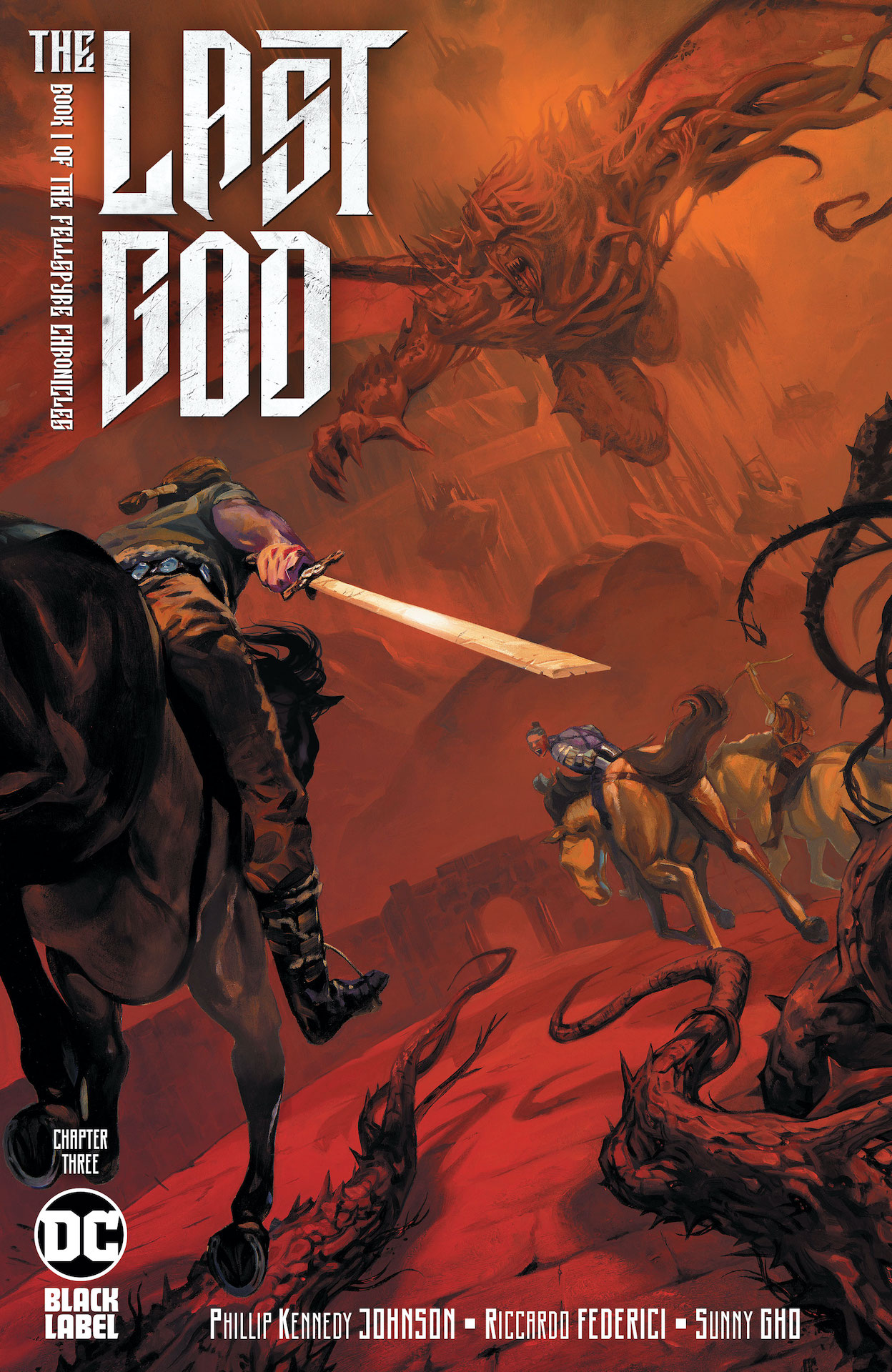 DC Preview: The Last God #3