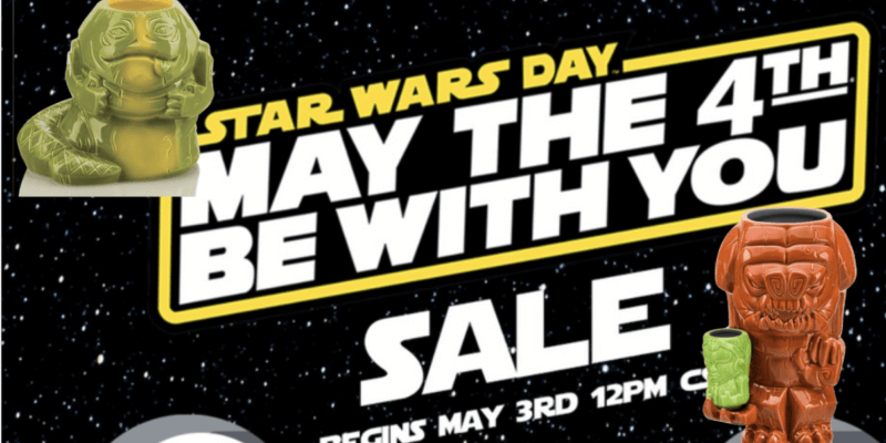 Toynk announces May the 4th deals and new Star Wars 'Geeki Tikis'