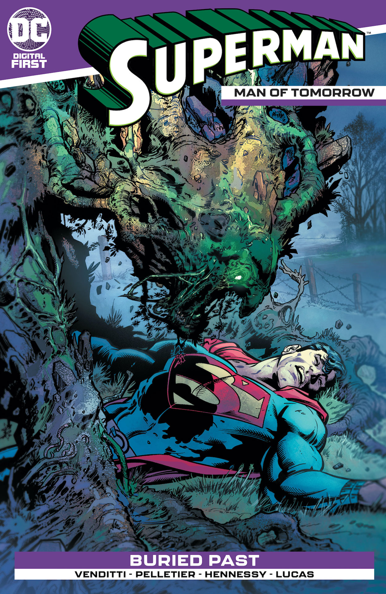 DC Preview: Superman: Man of Tomorrow #4