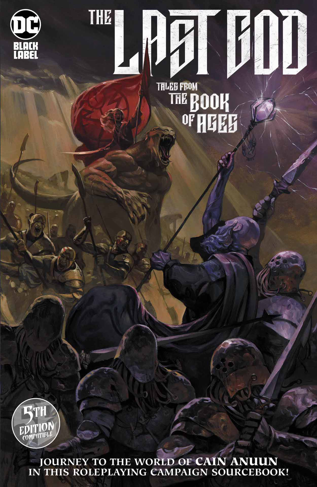 DC Preview: The Last God: Tales from the Book of Ages #1