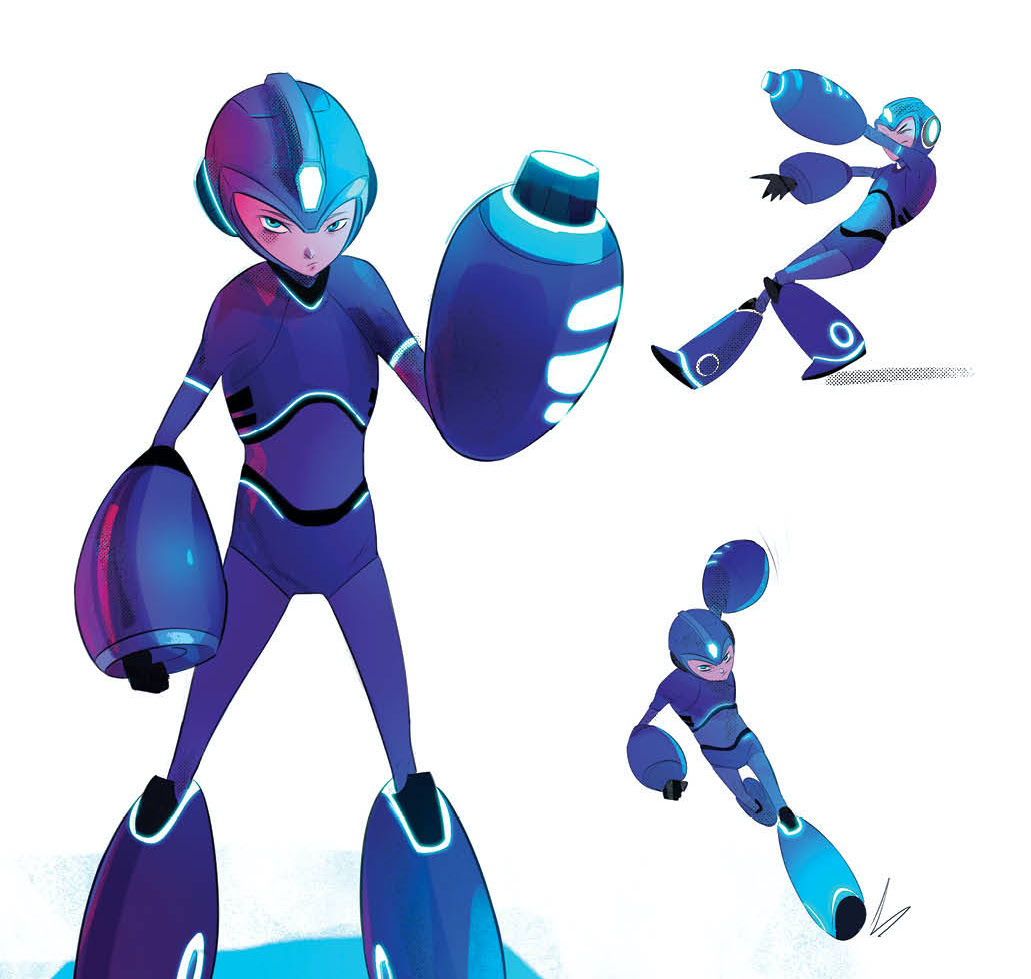 """BOOM! Studios makes us say """"Give me that, you robo-twits"""" announcing comics series 'Mega Man: Fully Charged'"""