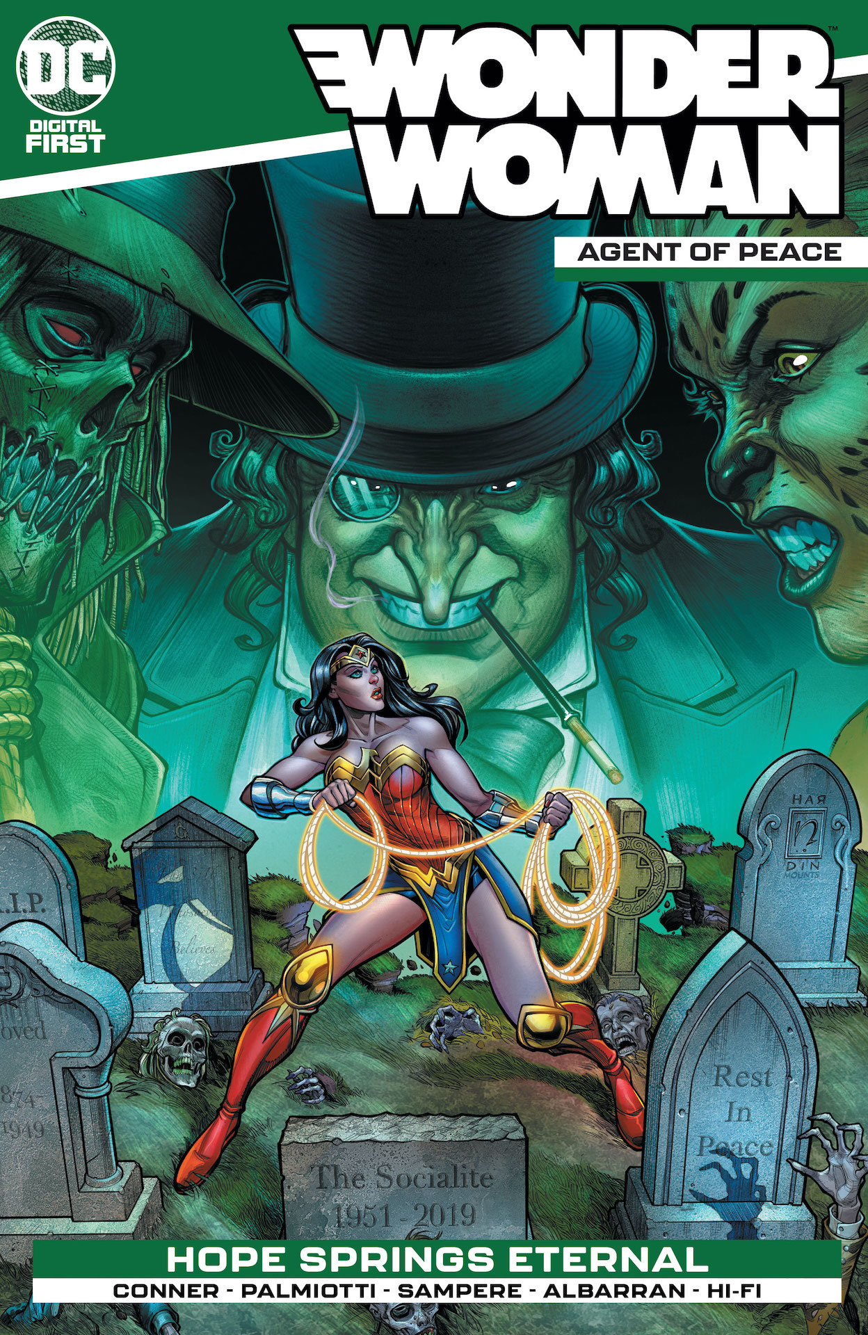 DC Preview: Wonder Woman: Agent of Peace #4