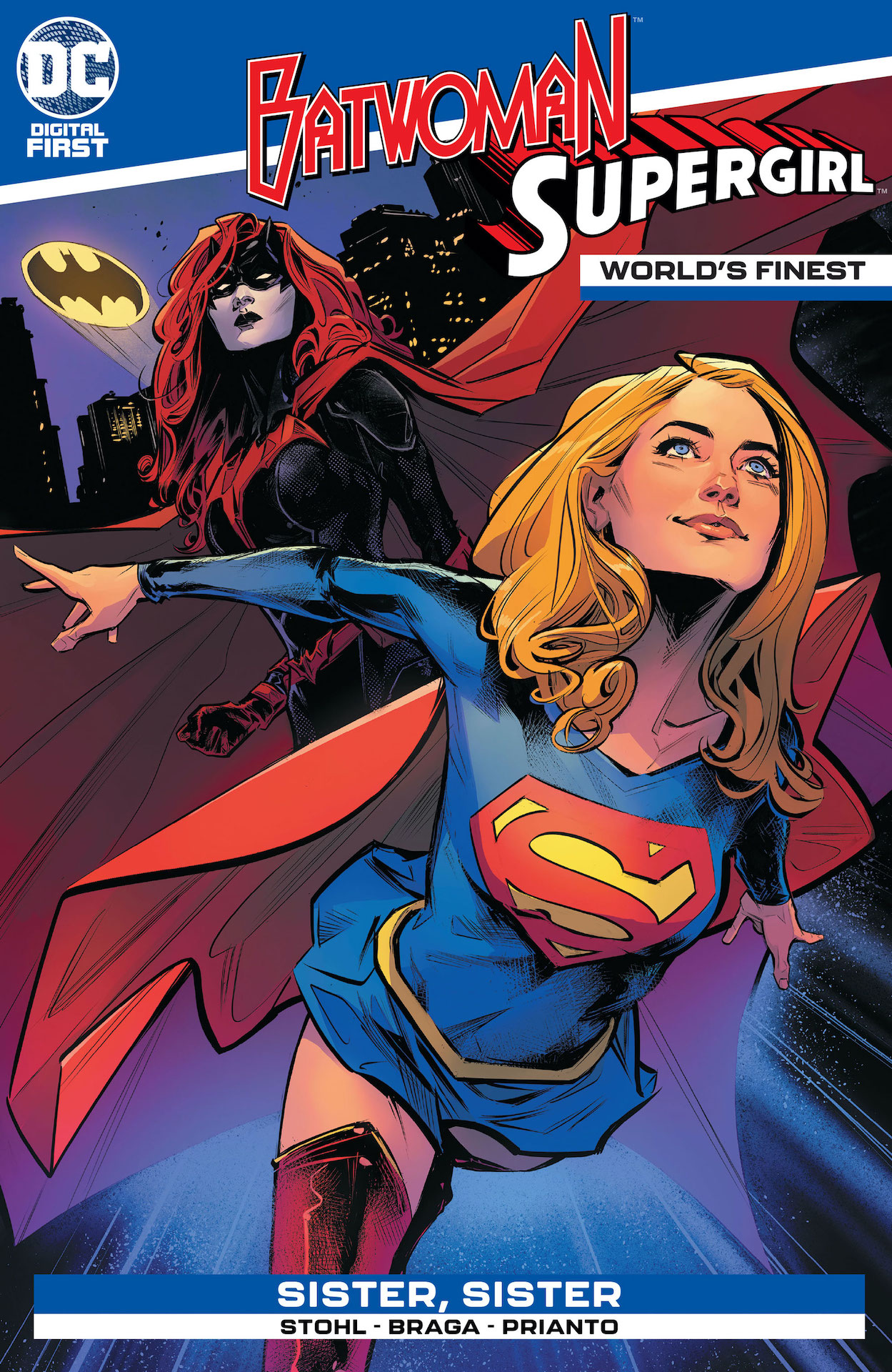 DC Preview: World's Finest: Batwoman and Supergirl #1