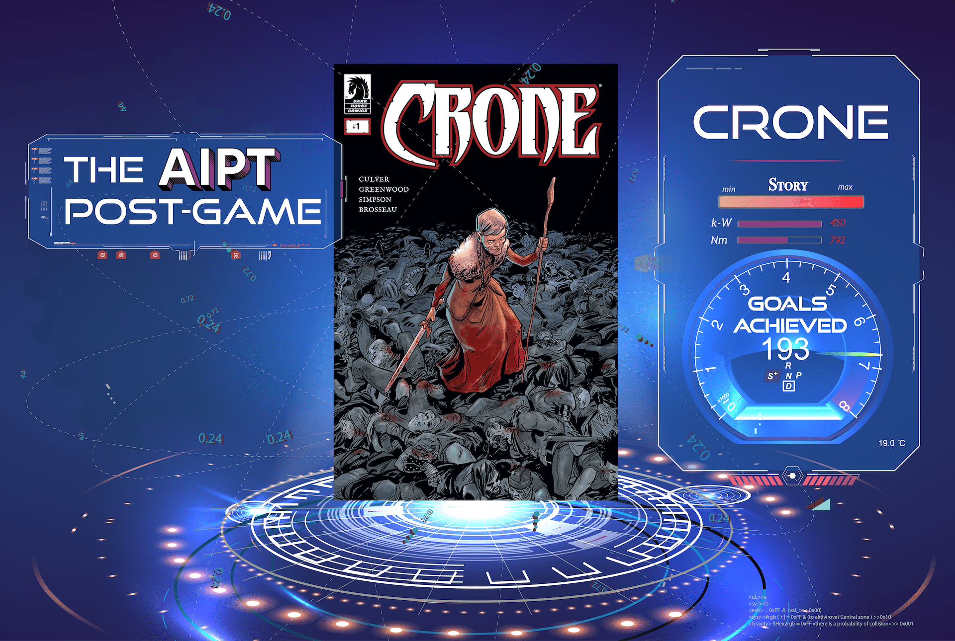 Post-Game: 'Crone' (with Dennis Culver and Justin Greenwood)