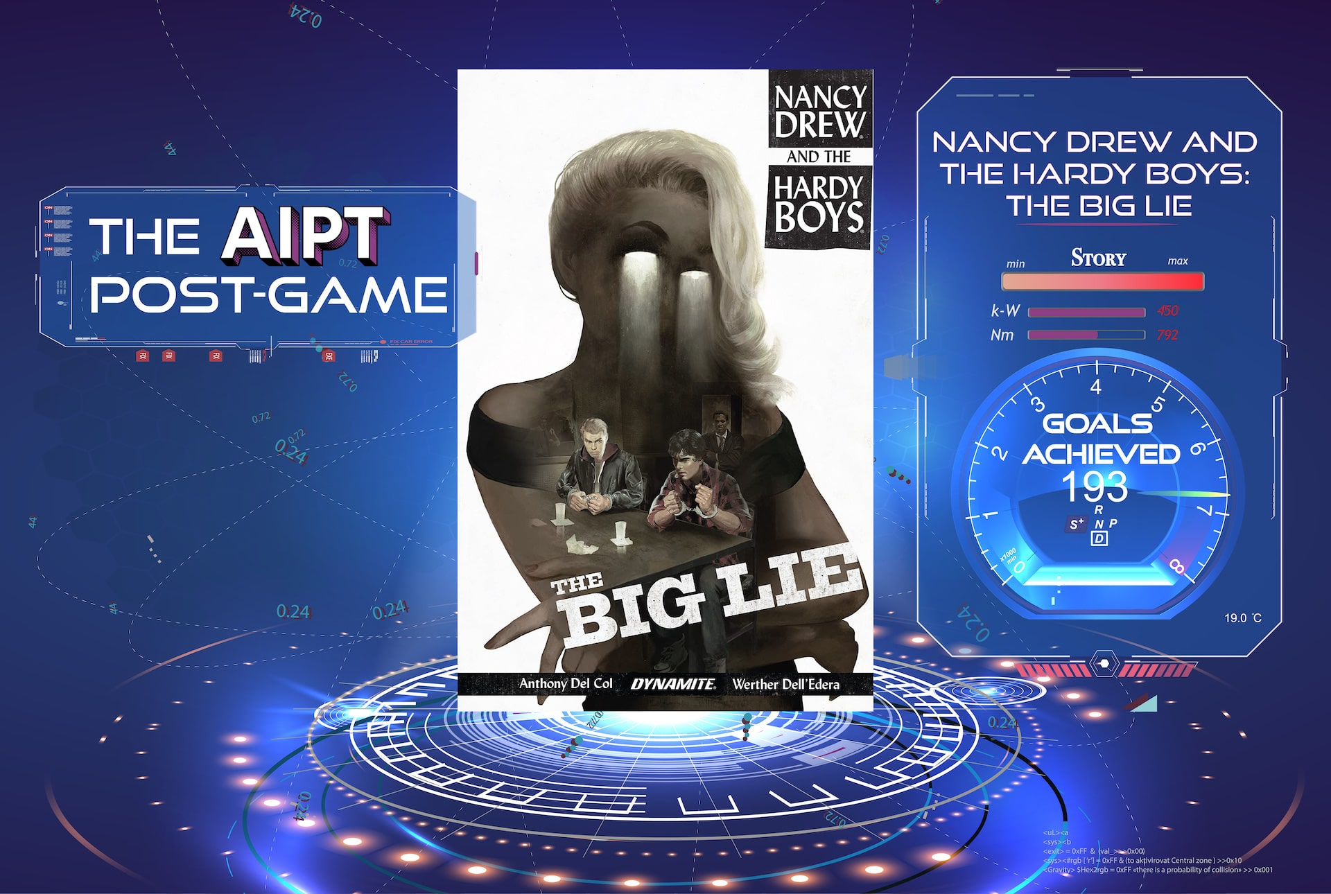Post-Game: 'Nancy Drew And The Hardy Boys: The Big Lie' (with Anthony Del Col)