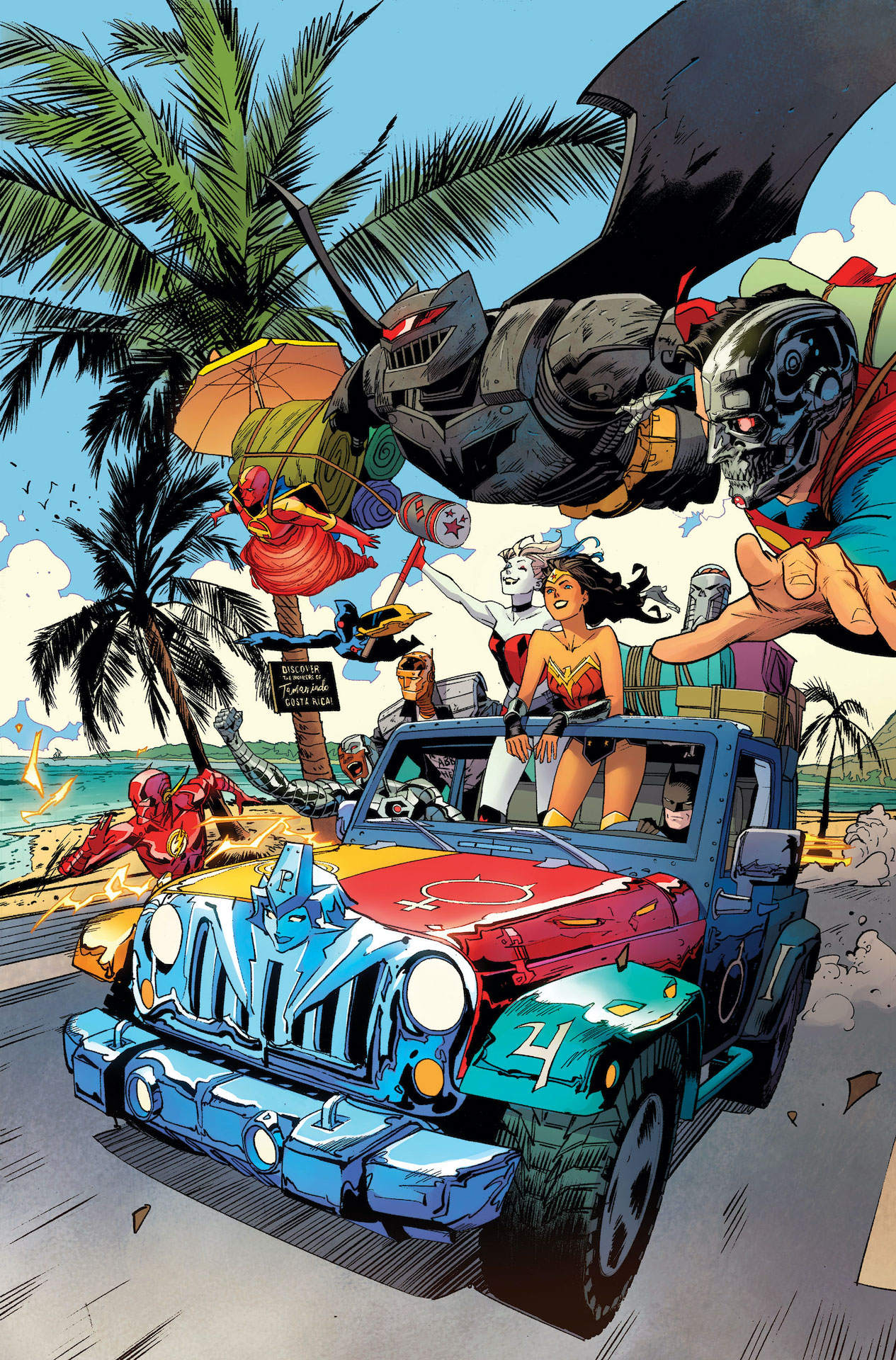 DC First Look: DC Cybernetic Summer #1
