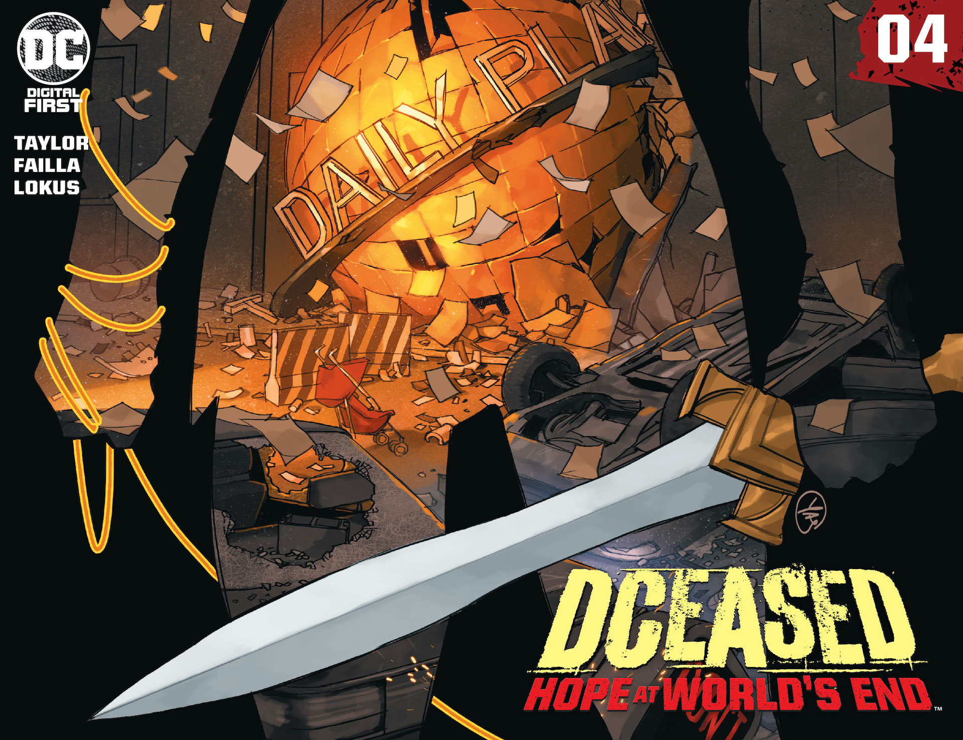 Get an early look at chapter four of DCeased: Hope At World's End #4.