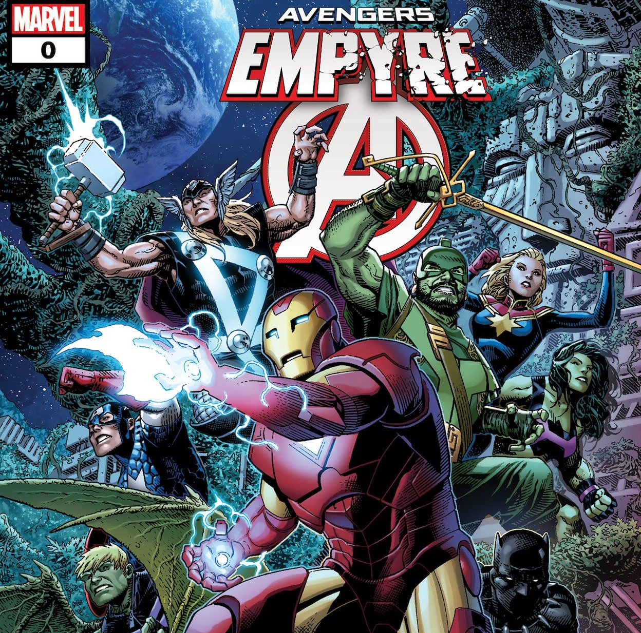 'Empyre: Avengers' #0 review
