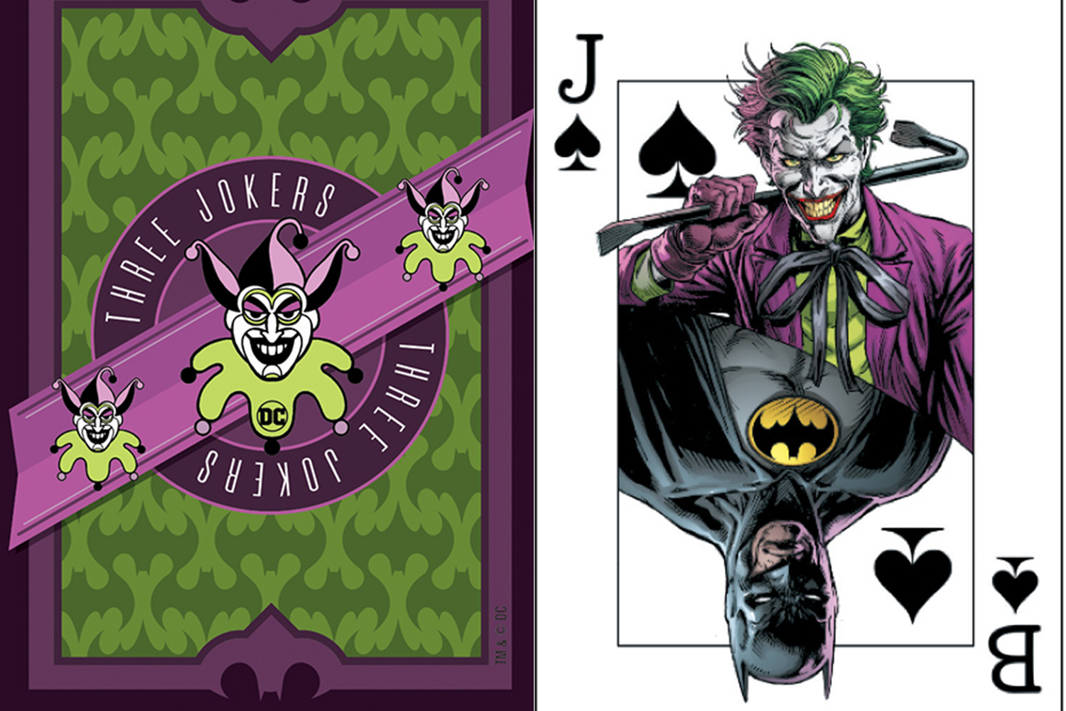 DC Comics giving away Joker playing cards with each 'Batman: The Three Jokers' issue