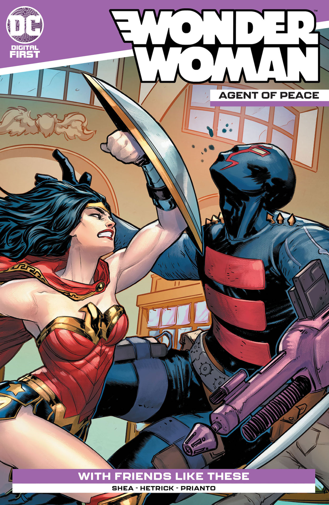 DC Preview: Wonder Woman: Agent of Peace #7