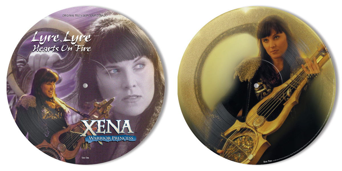 "Xena sings the hits: ""Lyre, Lyre, Hearts on Fire"" soundtrack coming soon"