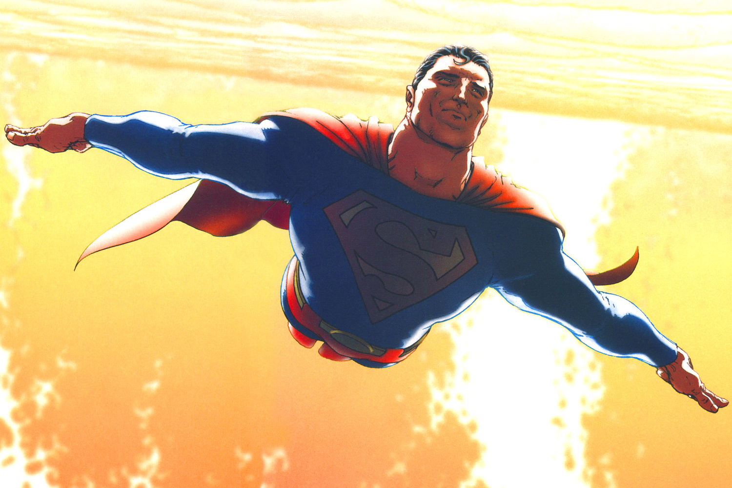 Or, Grant Morrison and Mark Waid's ploy to rebuild the Man of Steel.