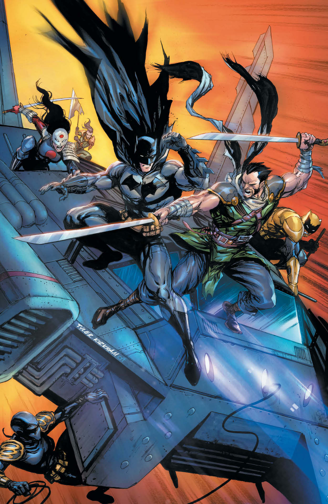DC Preview: Batman and the Outsiders #13