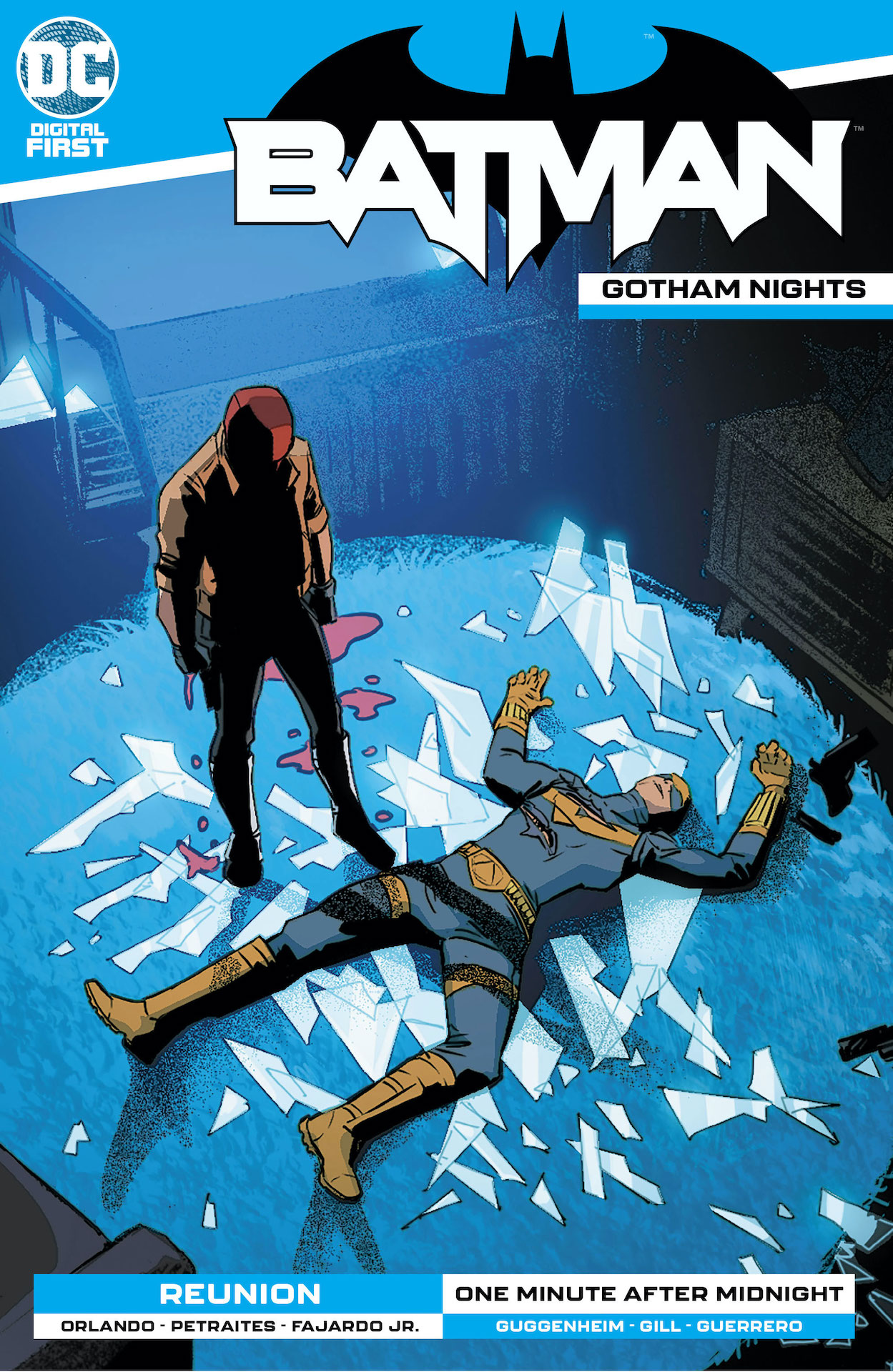 Batman: Gotham Nights #11 contains two stories, 'Reunion' and 'One Minute After Midnight.'