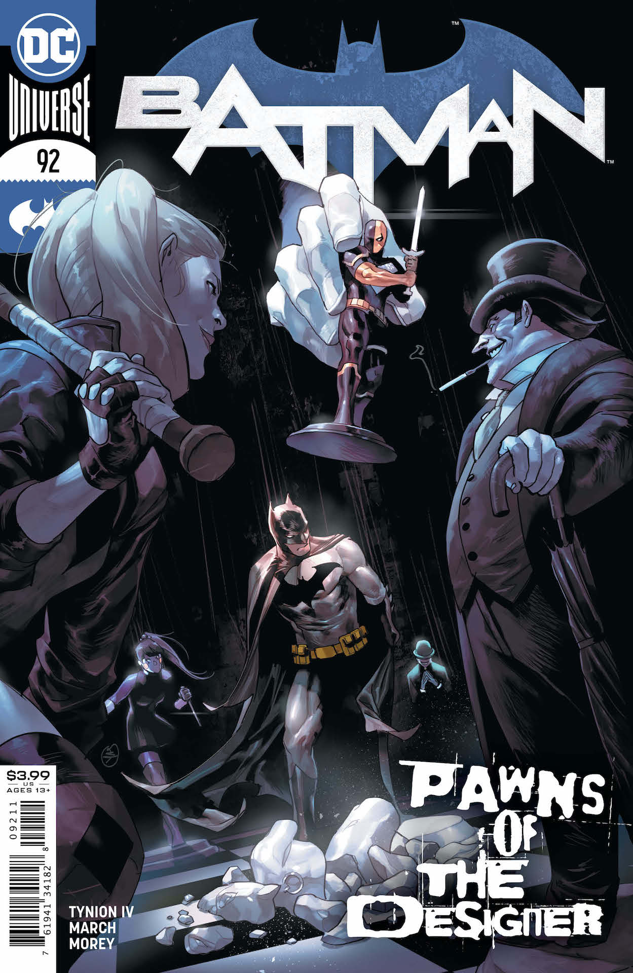 """DC Preview: Batman #92 - """"The city, it's turned green"""""""