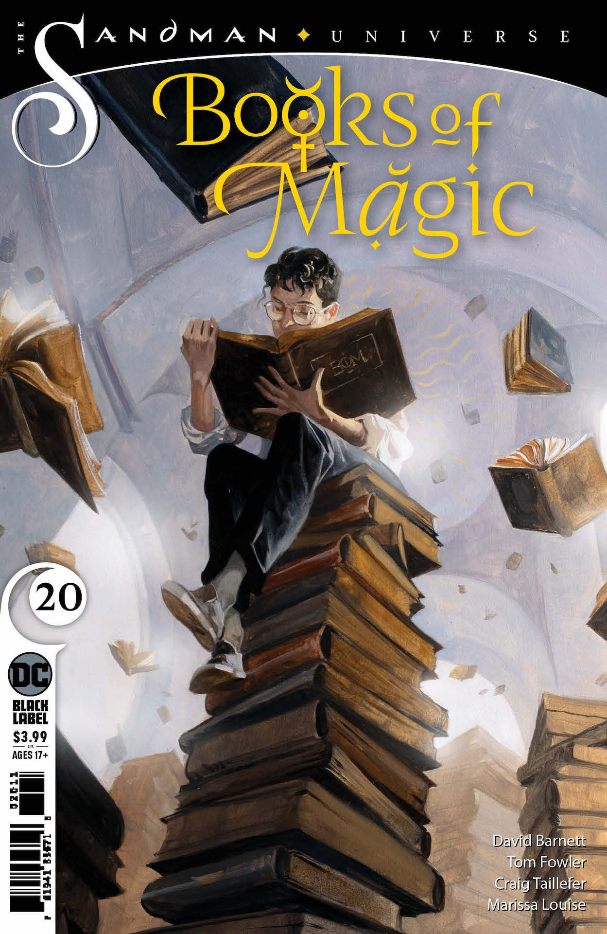 DC Preview: Books of Magic #20