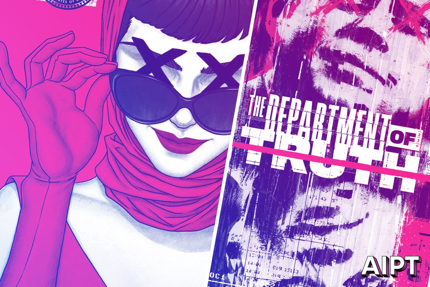 The Department of Truth will hit comic book shops in September 2020.