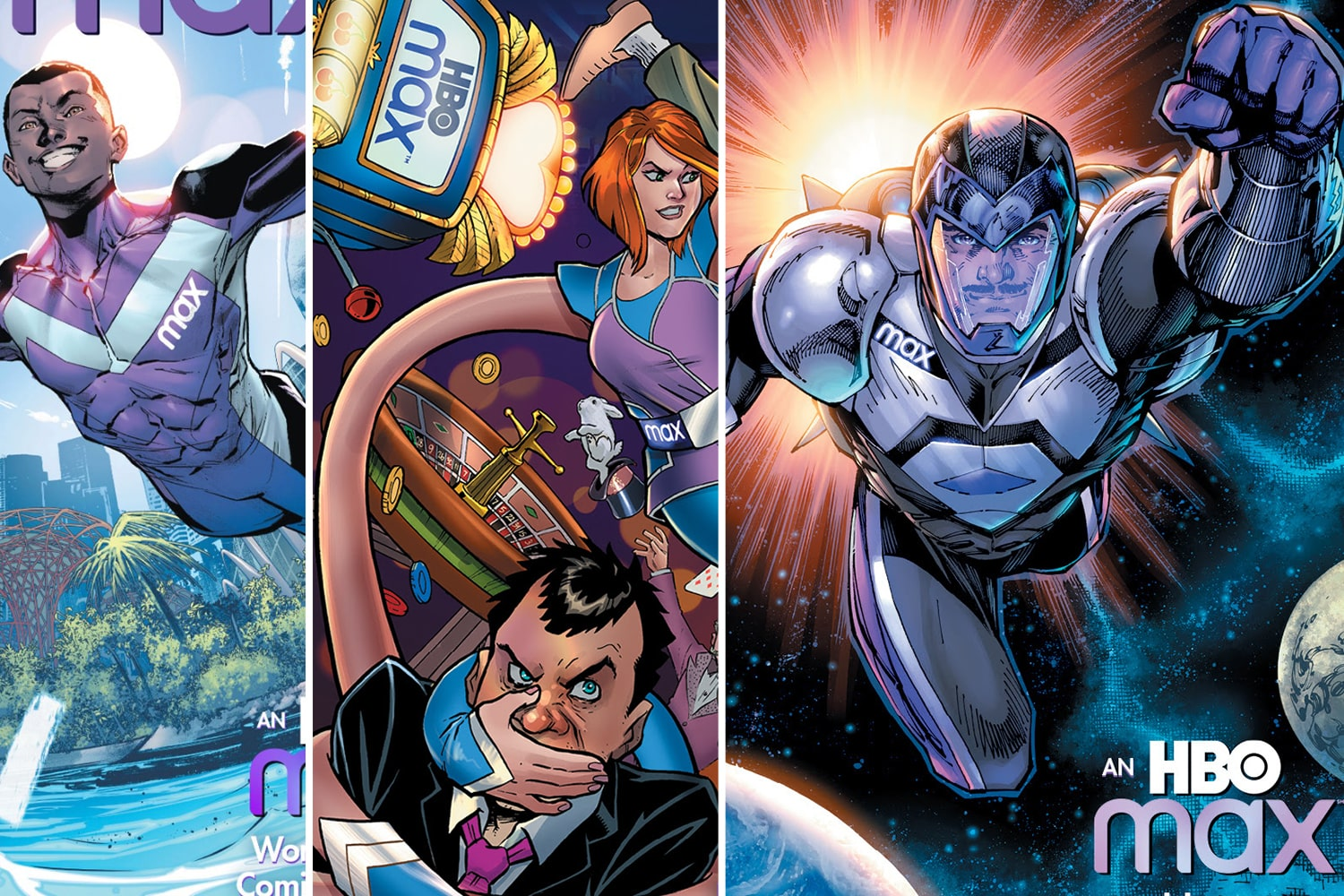 "It was bound to happen, but I never thought so soon, as DC Comics and HBO Max are collaborating on a new digital comic book series. Titled To The Max, the stories featured in the comic will be about ""ordinary people achieving their maximum potential when they transform into extraordinary superheroes with the help of another new character, Max the dog."" The comics celebrate the launch of HBO Max and likely are the first of more collaborations between the Warner Bros. companies."