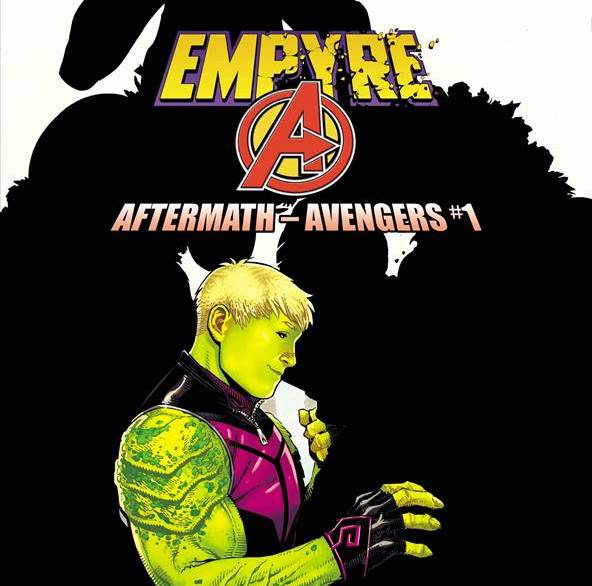 Spoiler cover for Empyre: Aftermath Avengers by Jim Cheung.