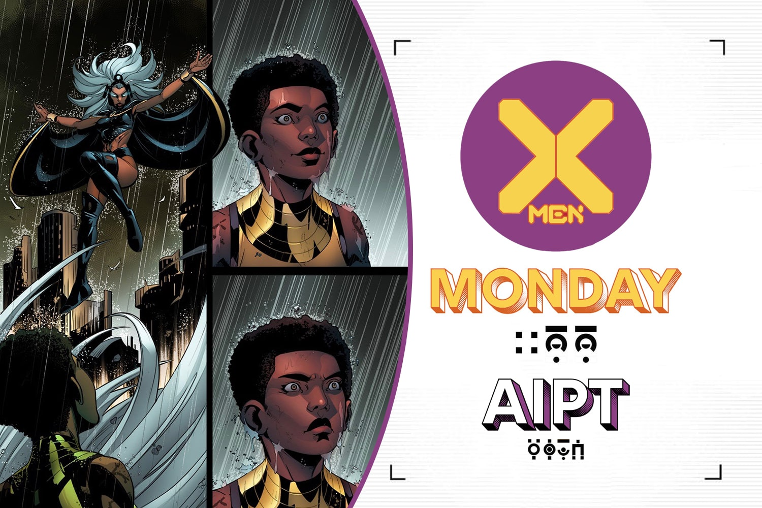 X-Men Monday - Ray-Anthony Height