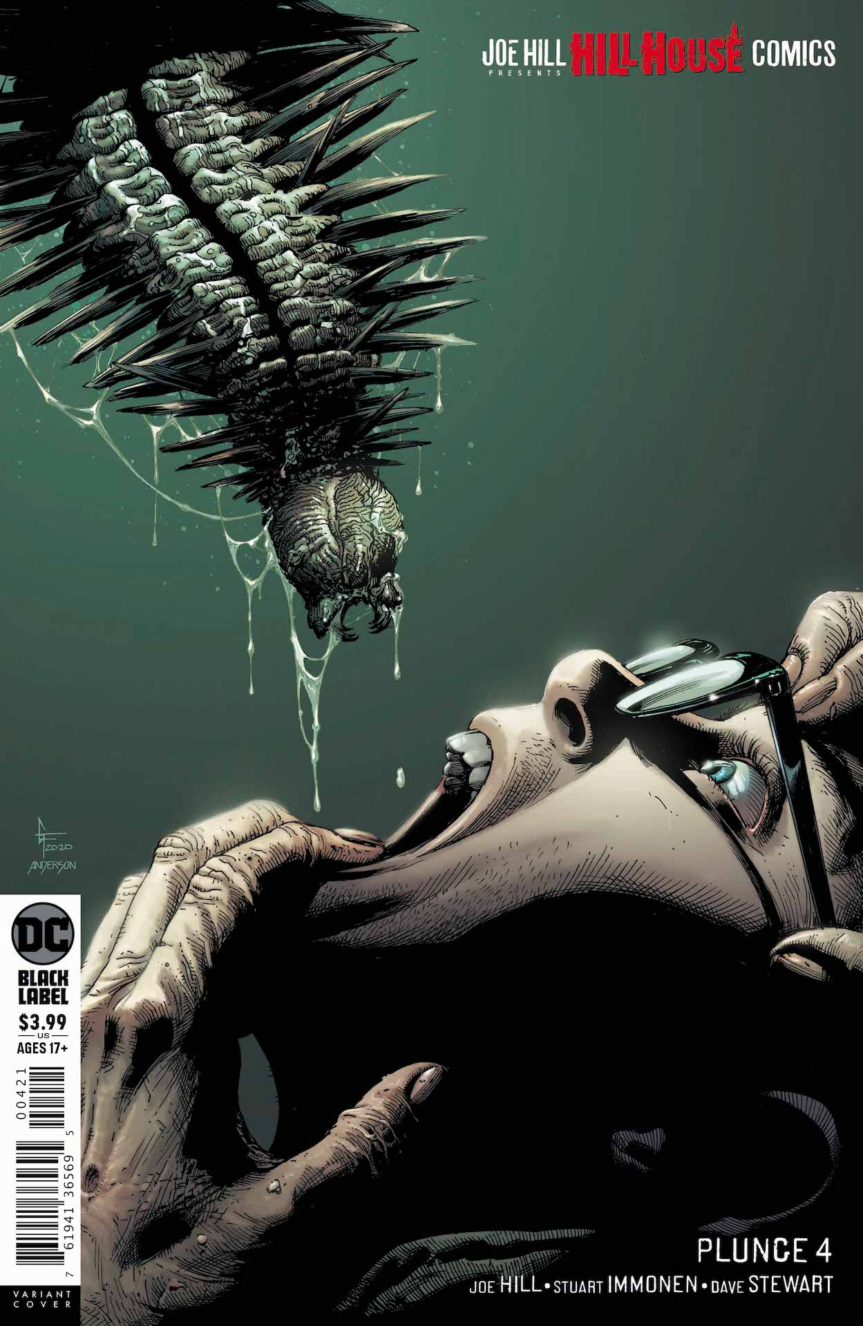 DC Preview: Plunge #4