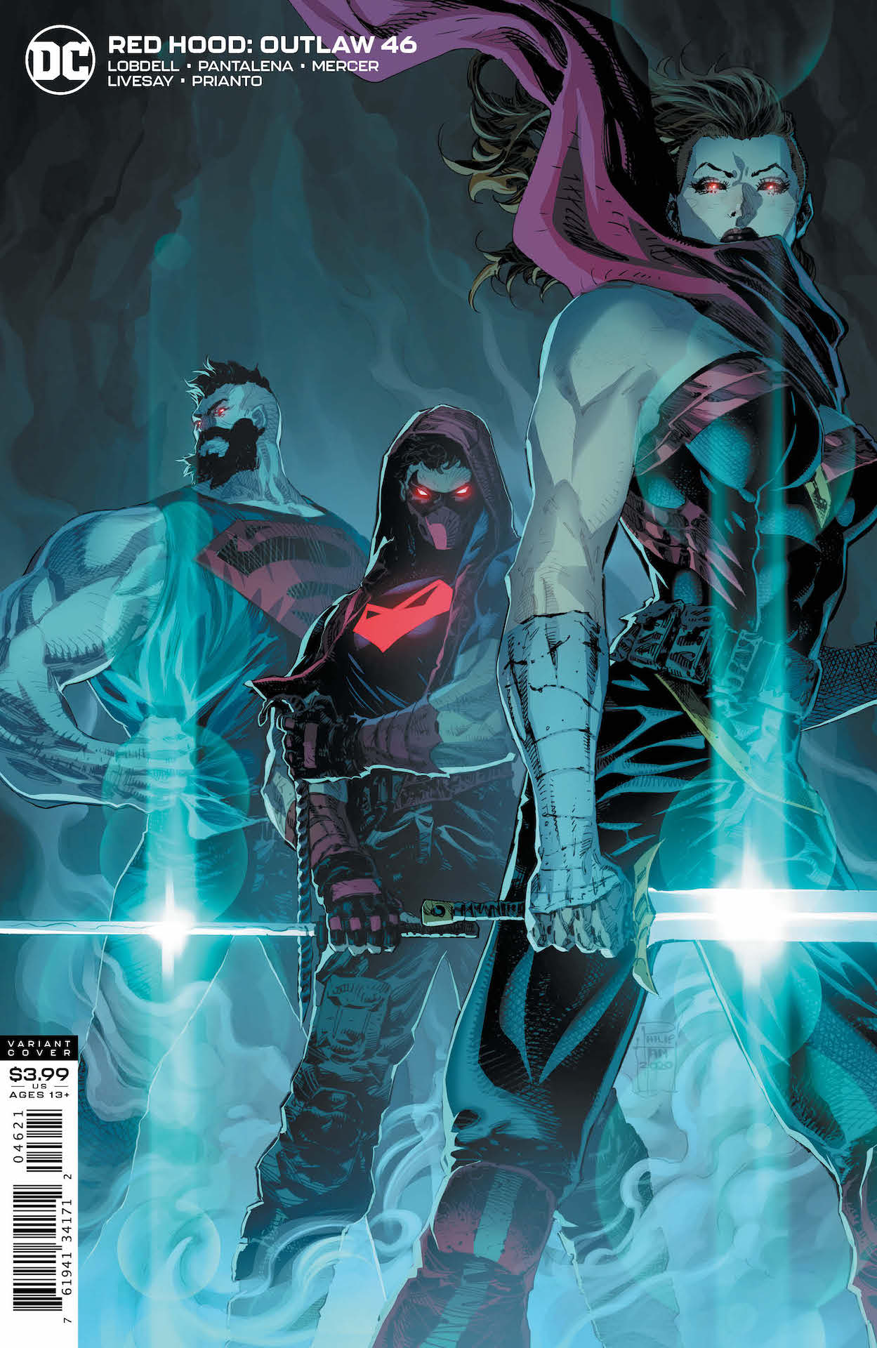 Red Hood, Artemis, and Bizarro have their hands full...